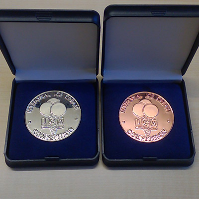 ICA Silver & Bronze Medals