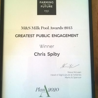 M&S Public Engagement Cert 2015